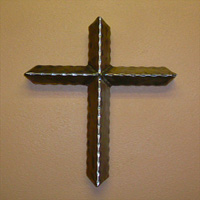 Ornamental Iron Cross - Misc #12 | Tumbleweed-Mfg | Amarillo, TX
