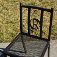 Ornamental Iron Chair - Furniture #16 | Tumbleweed-Mfg | Amarillo, TX