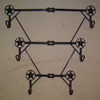 Ornamental Iron Coat-Hat Rack - Misc #3 | Tumbleweed-Mfg | Amarillo, TX