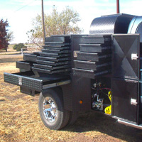 Custom Pickup Flatbed - The War Wagon #13 | Tumbleweed-Mfg | Amarillo, TX