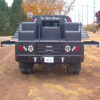 Custom Pickup Flatbed - The War Wagon #16 | Tumbleweed-Mfg | Amarillo, TX