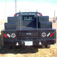 Custom Pickup Flatbed - The War Wagon #3 | Tumbleweed-Mfg | Amarillo, TX