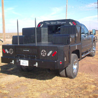 Custom Pickup Flatbed - The War Wagon #4 | Tumbleweed-Mfg | Amarillo, TX