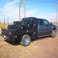 Custom Pickup Flatbed - The War Wagon #5 | Tumbleweed-Mfg | Amarillo, TX