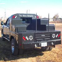 Custom Pickup Flatbed - The War Wagon #9 | Tumbleweed-Mfg | Amarillo, TX
