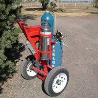 Tow-Torch #3 | Tow-able Acetylene Torch Cart | Tumbleweed-Mfg
