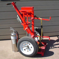 Tow-Torch #7 | Tow-able Acetylene Torch Cart | Tumbleweed-Mfg