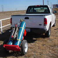 Tow-Torch #8 | Tow-able Acetylene Torch Cart | Tumbleweed-Mfg