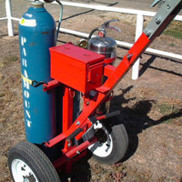 Tow-Torch #9 | Tow-able Acetylene Torch Cart | Tumbleweed-Mfg